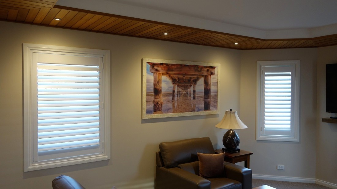 More Plantation Shutters installed in Living Room